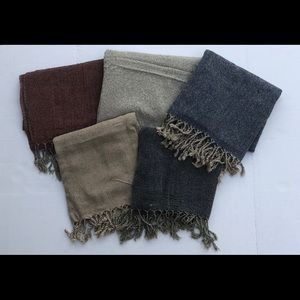 Other - Turkish wool/cotton scarves/pashminas